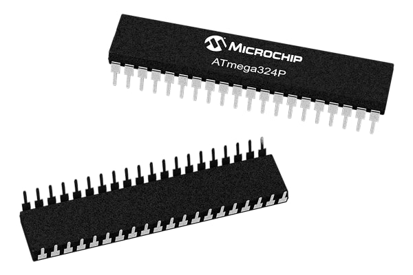 Product image for 8 BIT MICROCONTROLLER, AVR, 32KB FLASH