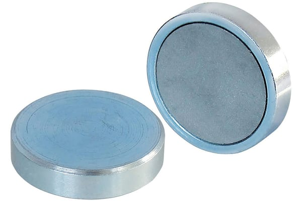 Product image for 50MM FERRITE SHALLOW POT MAGNET