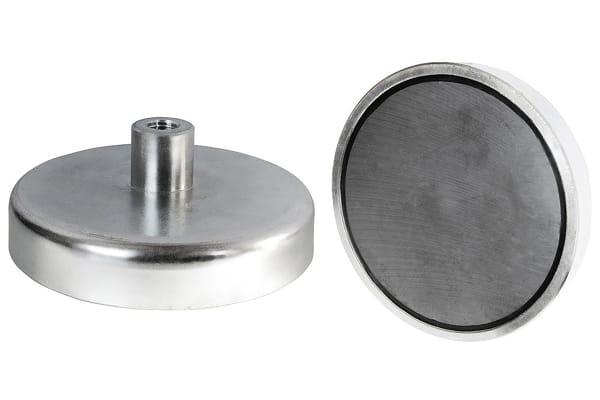 Product image for 6 X 4.5MM SAMARIUM SHALLOW POT MAGNET