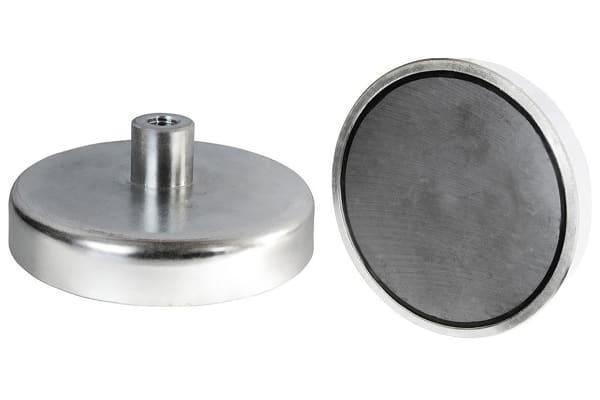 Product image for 16 X 4.5MM SAMARIUM SHALLOW POT MAGNET