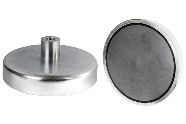 Product image for 20 X 6MM SAMARIUM SHALLOW POT MAGNET