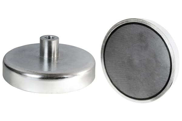 Product image for 32 X 7MM SAMARIUM SHALLOW POT MAGNET