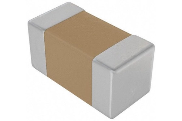 Product image for Ceramic Capacitor 0603 0.1uF 50V X7R