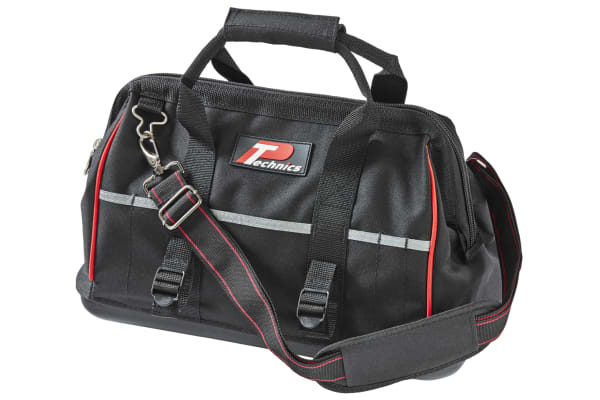 Product image for Technics Polyester Hard Bottom Bag with Shoulder Strap 415mm x 225mm x 290mm