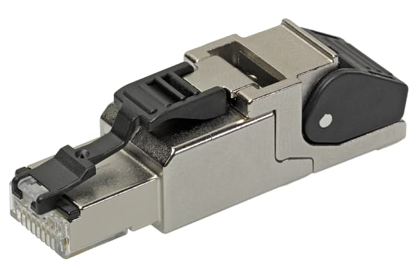 Product image for RJ45 straight shielded IDC field plug