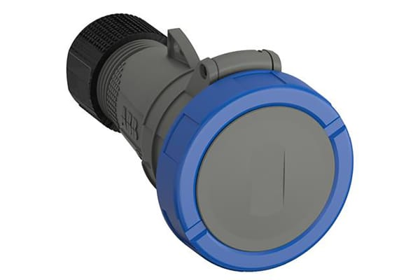 Product image for STRAIGHT CABLE SOCKET 32A, 230V