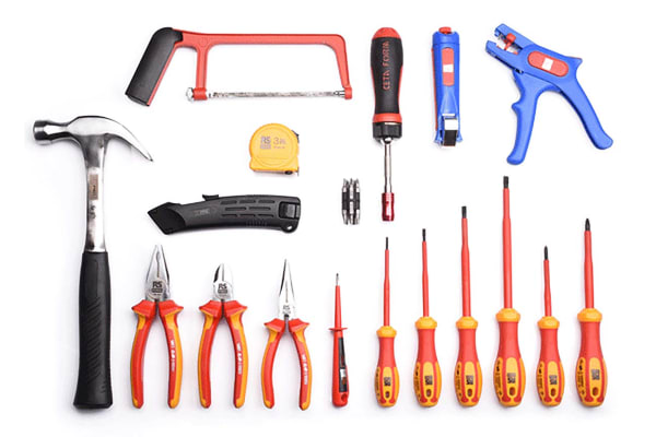Product image for 28 Piece Electricians Tool Kit