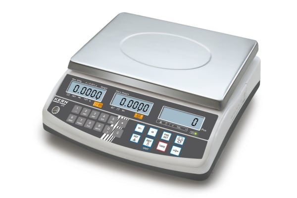 Product image for Kern Weighing Scale, 3kg Weight Capacity Type C - European Plug, Type G - British 3-pin