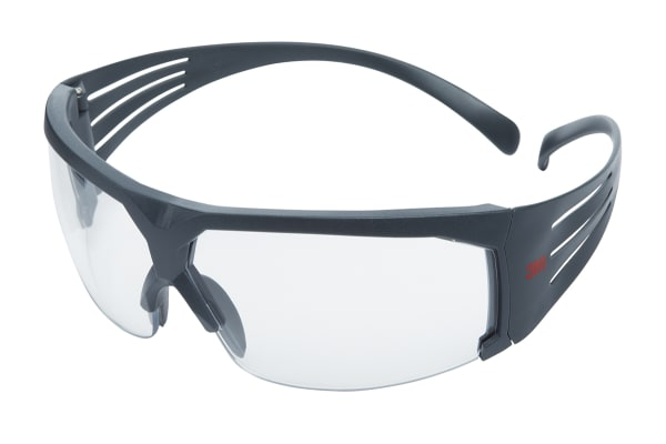 Product image for SecureFit 600 Glasses Clear Rugged