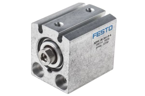 Product image for Compact Short Stroke Cyl 25mm x 10mm