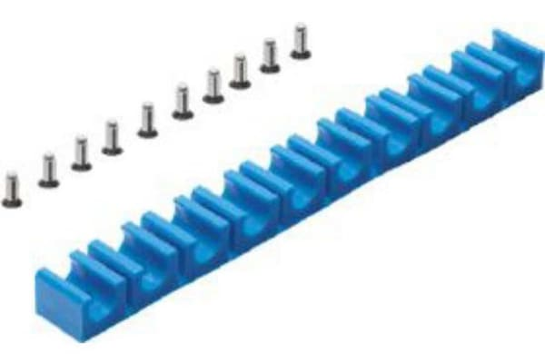 Product image for 10 TUBE CLIP FOR 8MM TUBING