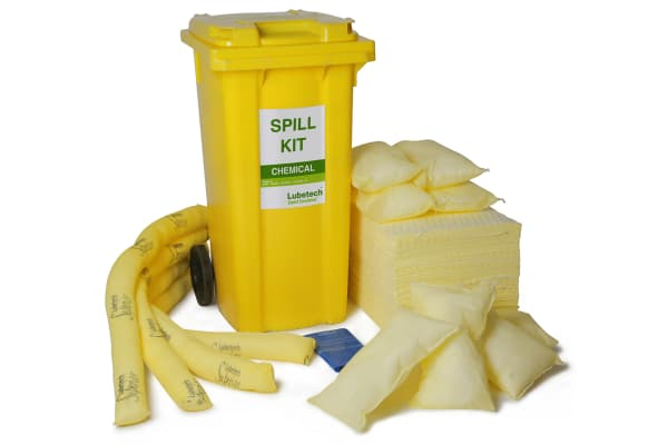 Product image for Lubetech Performance Spill Kit 120 L Chemical Spill Kit