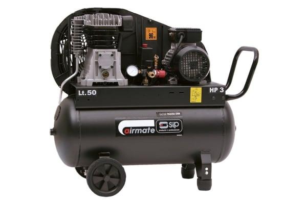 Product image for SIP 3HP 50LTR COMPRESSOR/BELT DRIVE230V