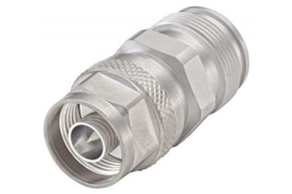 Product image for ADAPTOR N PLUG - 4.3-10 JACK STRAIGHT
