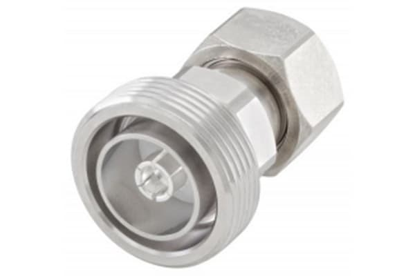 Product image for Straight 50Ω Coax Adapter 7/16 Socket to 4.3-10 Plug 8.3GHz