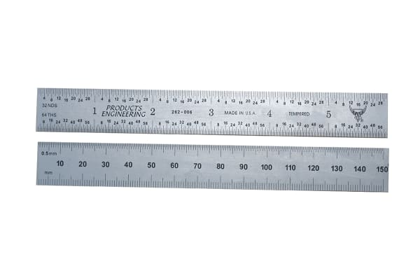 Product image for METRIC & INCH SQUARE ENDED RULES