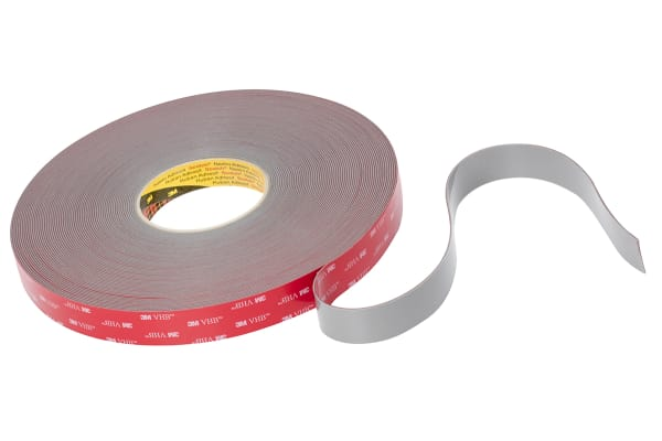 Product image for 3M VHB Tape GPH-160GF, grey, 19mm x 33m