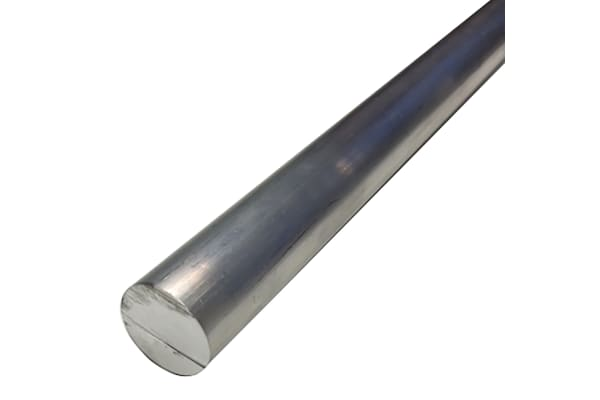 Product image for 6082-T6 Aluminum Round Bar, 15mm x 1m