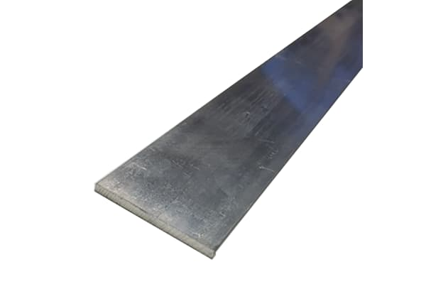 Product image for 6082T6 Aluminium flat, 25mmx3mmx1m,10 pk