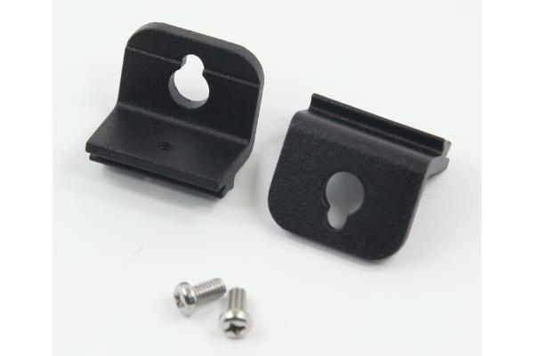 Product image for 1 SET/ 2 PCS BLACK BRACKET