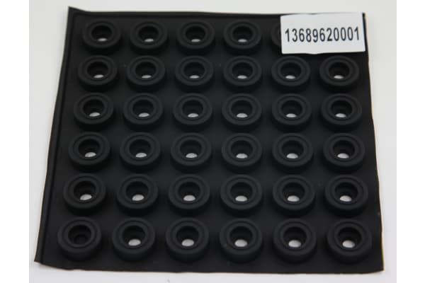 Product image for 1 SHEET/36 PCS OF RUBBER FEET
