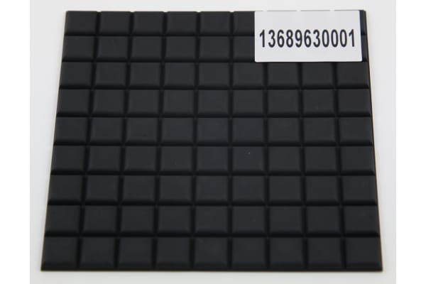 Product image for 1 SHEET/81 PCS OF RUBBER FEET