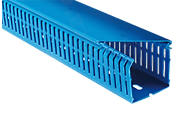 Product image for Blue Panel Trunking W100XH100