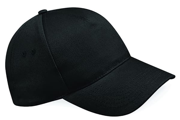 Product image for 5 Panel Cap Black