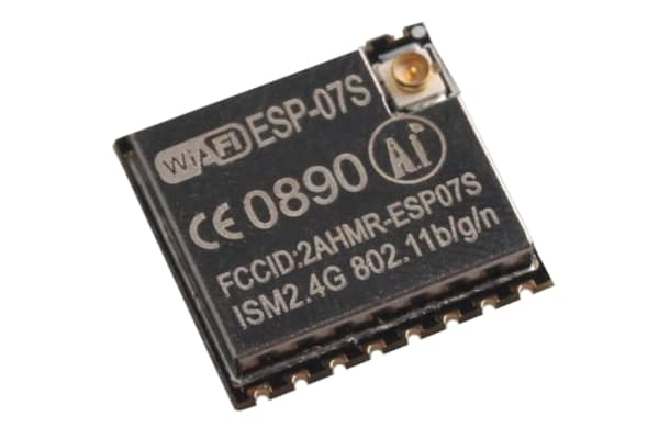 Product image for ESP-07S ESP8266 WIFI MODULE 16MBITS SPI