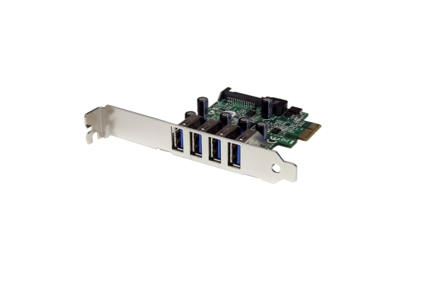 Product image for 4 Port PCIe USB 3.0 Card