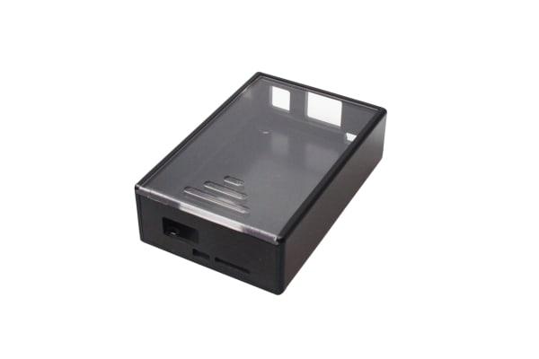 Product image for Beaglebone Black Case - Black/Clear