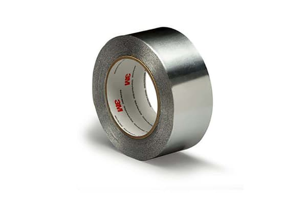 Product image for 3M 425 Conductive Aluminium Tape 0.12mm, W.38mm, L.55m