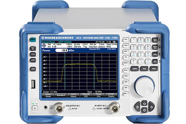 Product image for Rohde & Schwarz FSC-P4 Desktop Spectrum Analyser, 9 kHz → 6 GHz