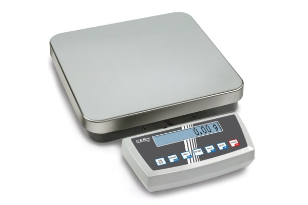 Product image for Kern Weighing Scale, 20kg Weight Capacity Type B - North American 3-pin, Type C - European Plug, Type G - British 3-pin