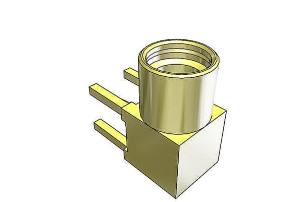 Product image for 50 OHM MMCX R/A PCB JACK