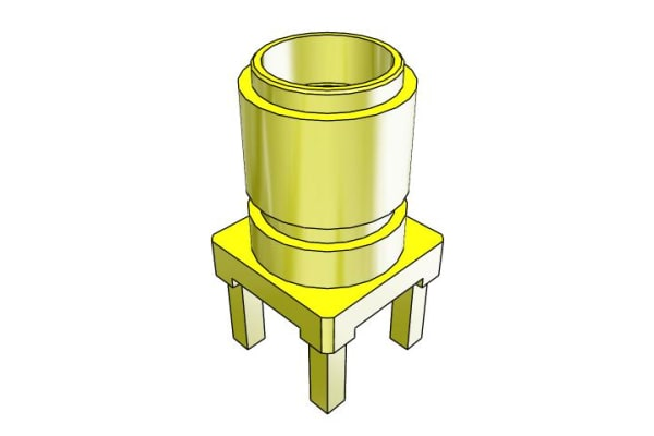 Product image for 50 OHM PCB MOUNT SMA JACK