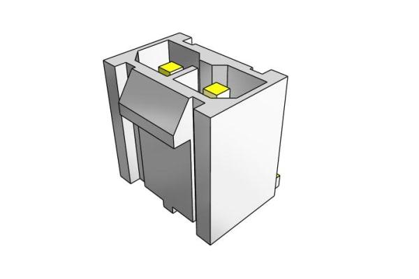 Product image for 1.27MM TIGER EYE ISDF CRIMP HOUSING, 10P
