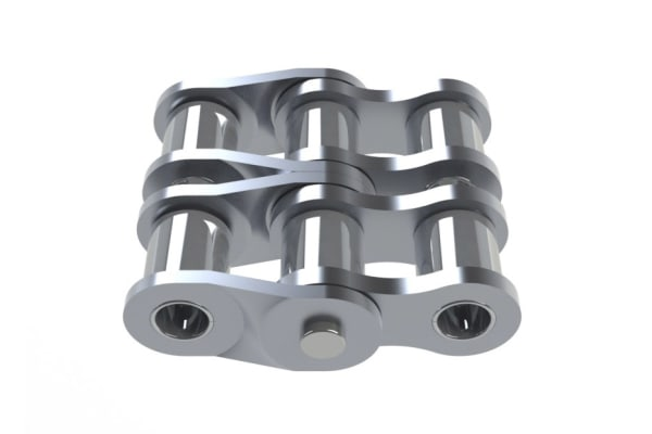 Product image for DOUBLE CRANK 08B2 ALPHA SS 1/2 DUPLEX