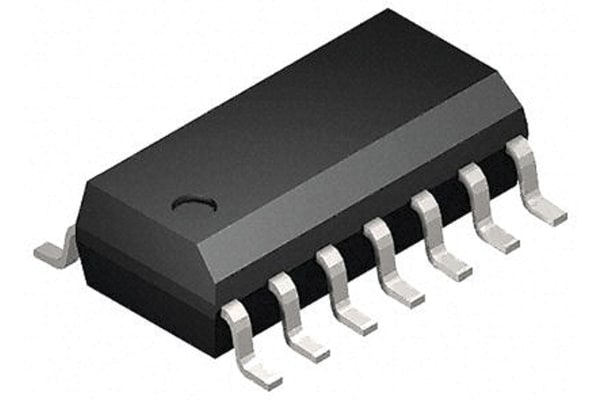 Product image for CMOS IC HEX SCHMITT INVERTER SOIC14