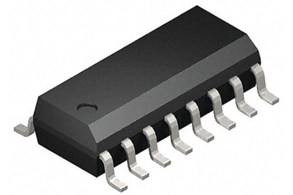 Product image for CMOS IC HEX BUFFER/CONVERTER SOIC16