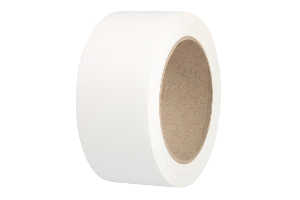 Product image for Floor marking tape white 50mmx33m