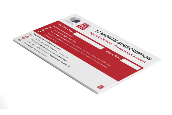 Product image for RS Pro Cloud StartUp Voucher - 12m