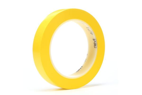 Product image for Vinyl tape 3M 471 12mmx33m yellow
