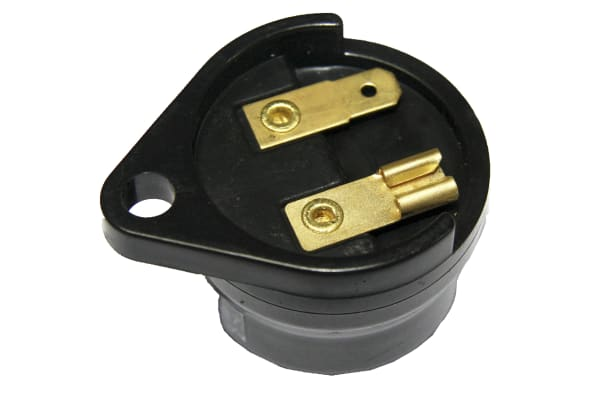 Product image for Black Panel Mount Buzzer