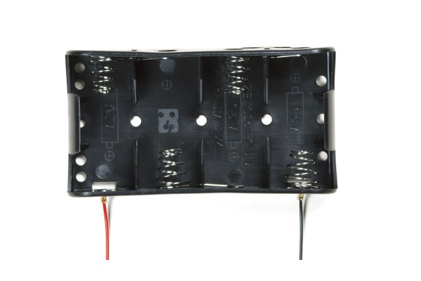 Product image for 4 C BATTERY HOLDER & LEAD