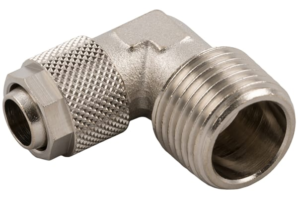Product image for BSPT ELBOW MALE CONNECTOR 6/4-1/8