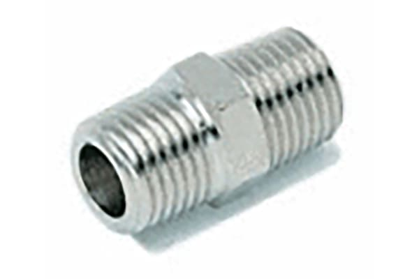 Product image for ADAPTOR MALE MALE - BSPT 1/8