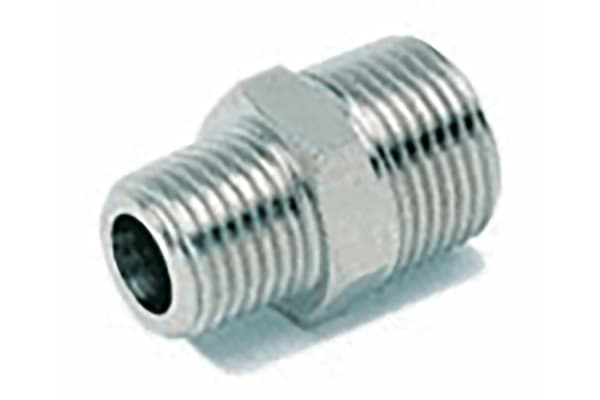 Product image for ADAPTOR MALE MALE - BSPT 1/4-3/8