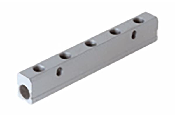 Product image for ALUMINIUM MANIFOLD 3/8-1/4-3