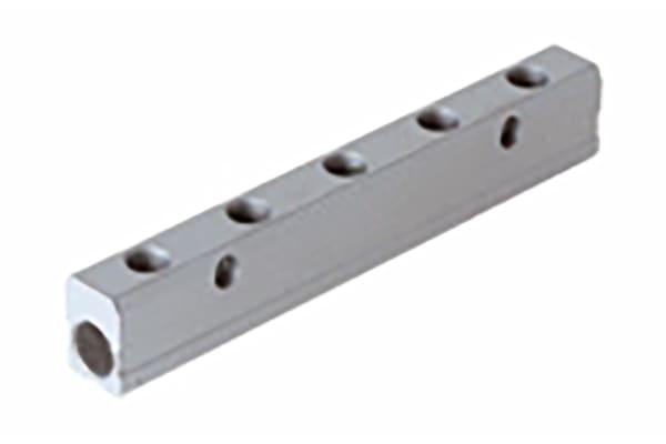 Product image for ALUMINIUM MANIFOLD 3/8-1/4-6